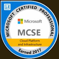 MCSE Cloud Platform and Infrastructure 2017