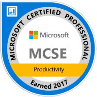 MCSE Productivity